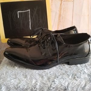 Kenneth Cole Reaction Patent Leather Oxfords
